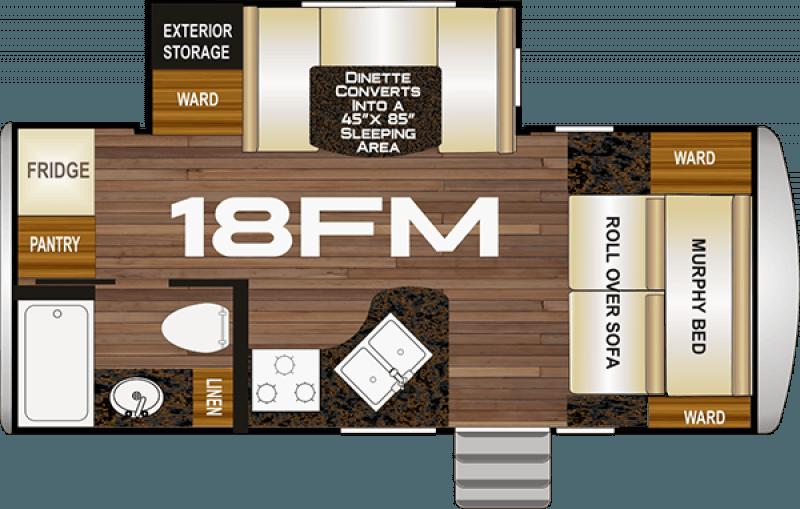2021 NORTHWOOD NASH 18FM