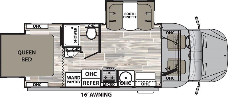2021 DYNAMAX ISATA 3 24RW Floorplan