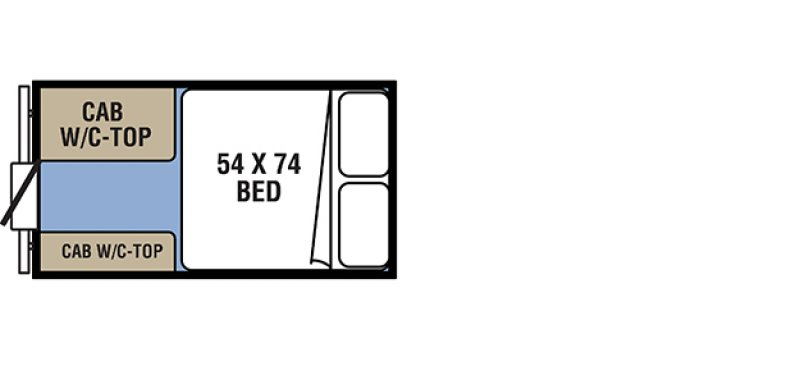 2021 COACHMEN CLIPPER EXPRESS 9.0 TD Floorplan