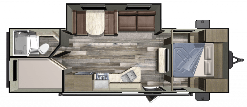 2017 STARCRAFT AUTUMN RIDGE 26 BHS Floorplan