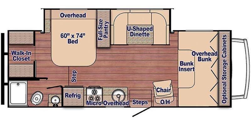 2022 FORD E-450 CUTAWAY E-450 CUTAWAY Floorplan