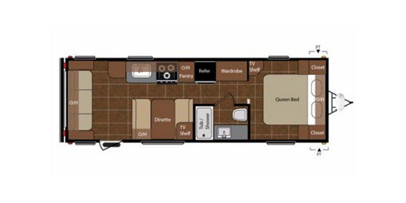 2013 KEYSTONE SPRINGDALE SPRINGDALE Floorplan