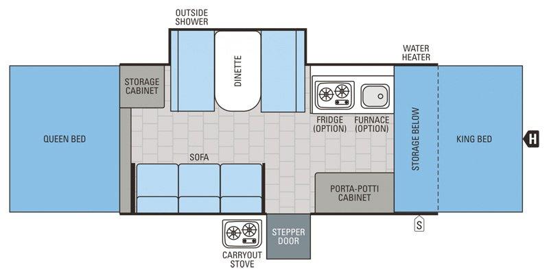 2015 JAYCO JAY SERIES 1209SC Floorplan