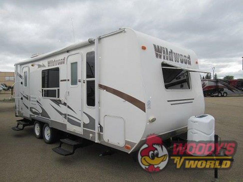 2011 FOREST RIVER WILDWOOD 23FB MECHANIC SPECIAL