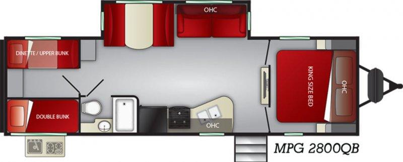 2019 CRUISER RV MPG ULTRA-LITE 2800QB