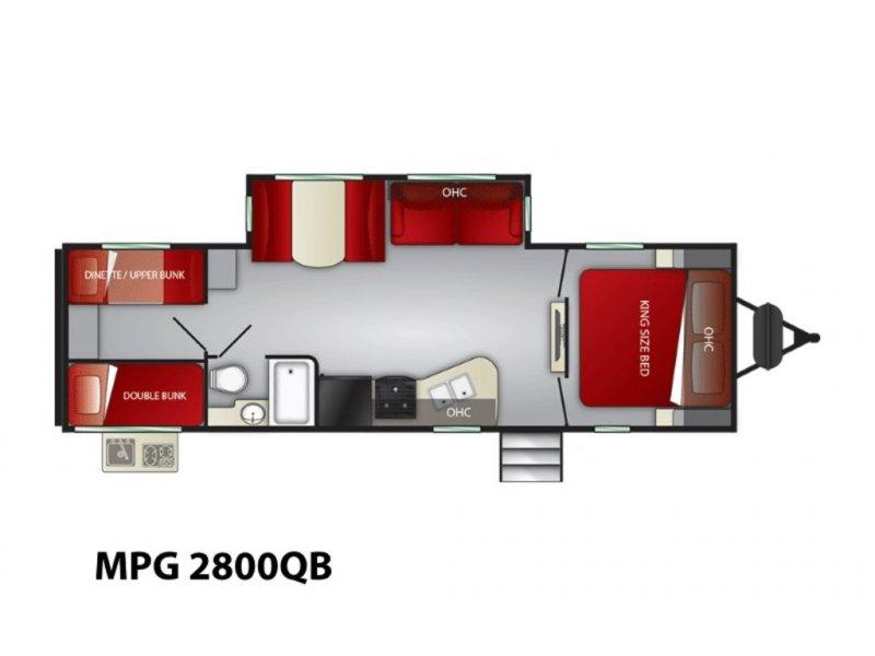 2021 CRUISER RV MPG ULTRA-LITE 2800QB