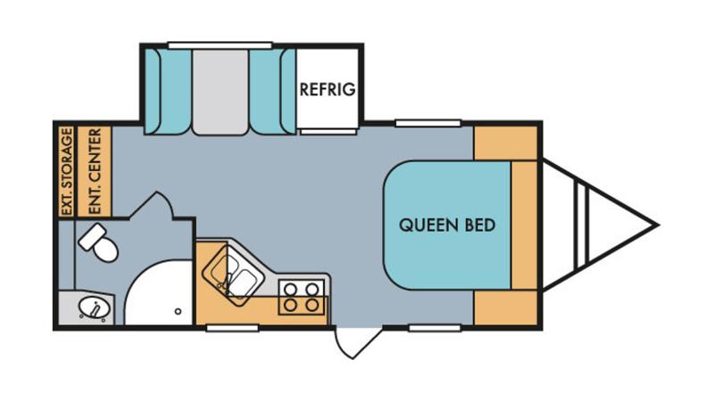 2019 RIVERSIDE RETRO 193FB Floorplan