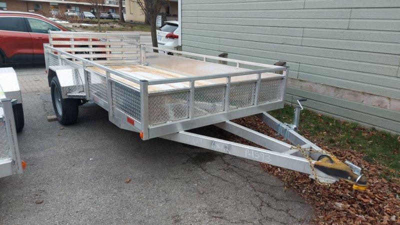2021 TOW-TEK Tow Tek Aluminum 6x12 Bi-fold gate