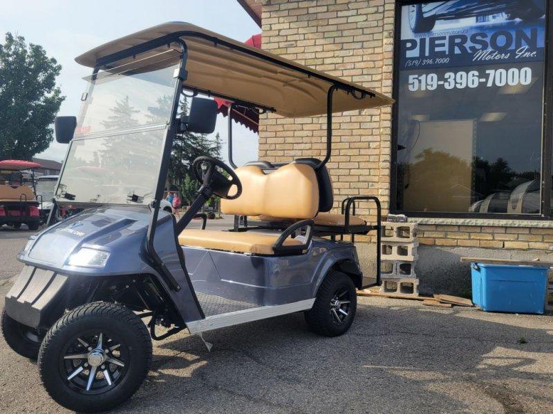 2021 AGT Hobbit 2 + 2 Golf Cart