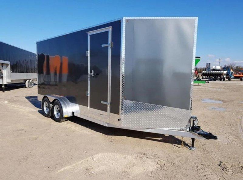 2021 BECKNER Enclosed V-Nose 7x16