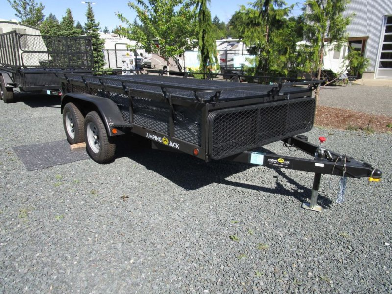 2021 JUMPING JACK TRAILERS Mid 6 x 12 w/12' Tent
