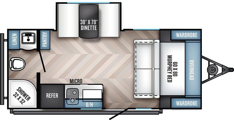 2022 REAL-LITE REAL LITE PAT186 Floorplan