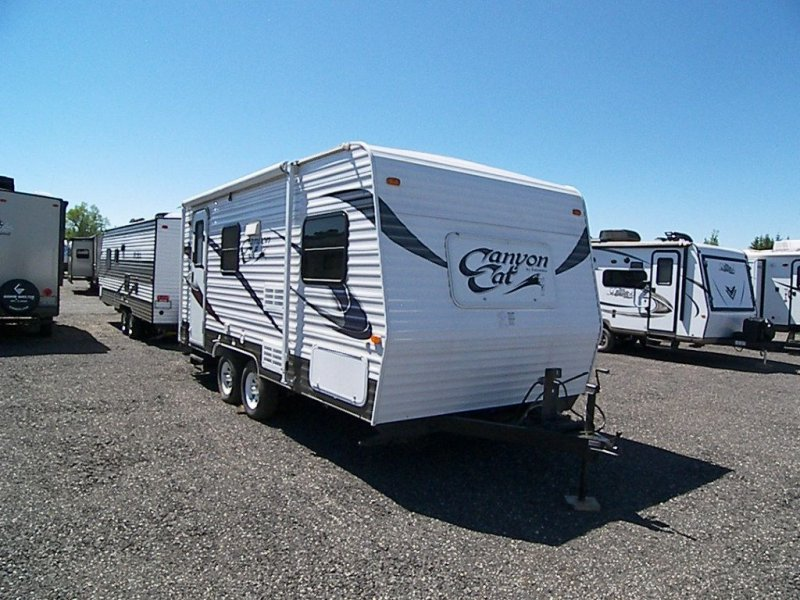 2012 FOREST RIVER CANYON CAT 17FQ