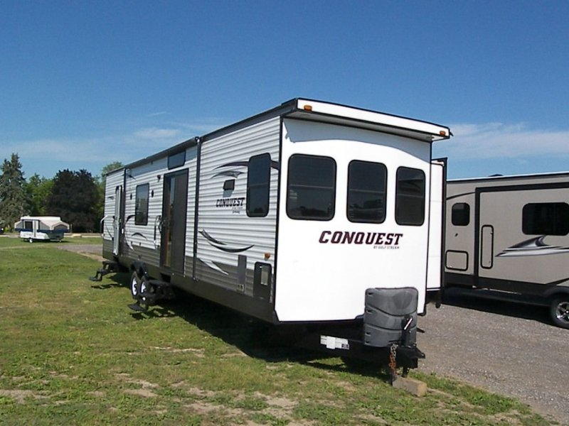 2015 FOREST RIVER CONQUEST 40DEN