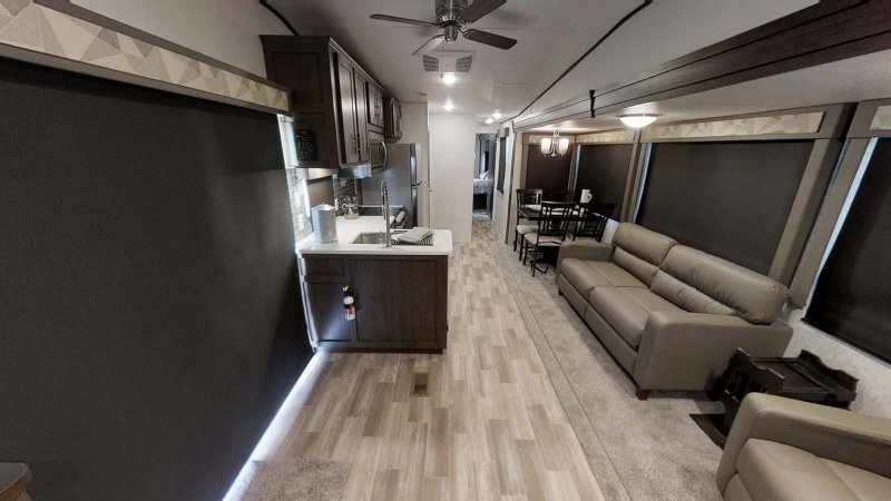2019 FOREST RIVER Wildwood DLX 40FDEN