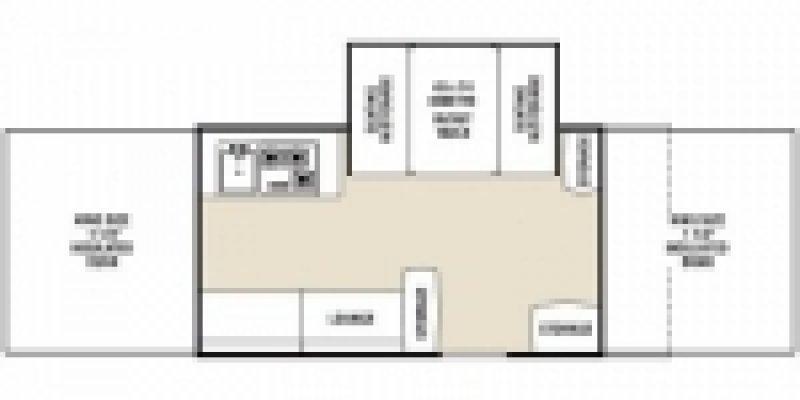 2012 COACHMEN CLIPPER 1285 SST Floorplan
