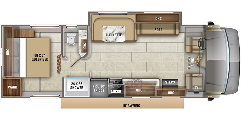 2022 JAYCO REDHAWK 29XK Floorplan