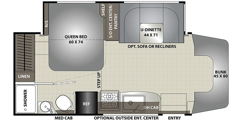 2022 COACHMEN PRISM 24FS Floorplan