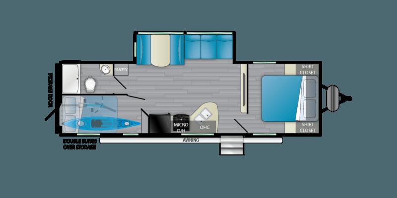 2021 HEARTLAND PROWLER 271BR Floorplan