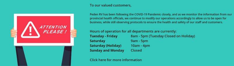 Slide Image - COVID-19 Announcement