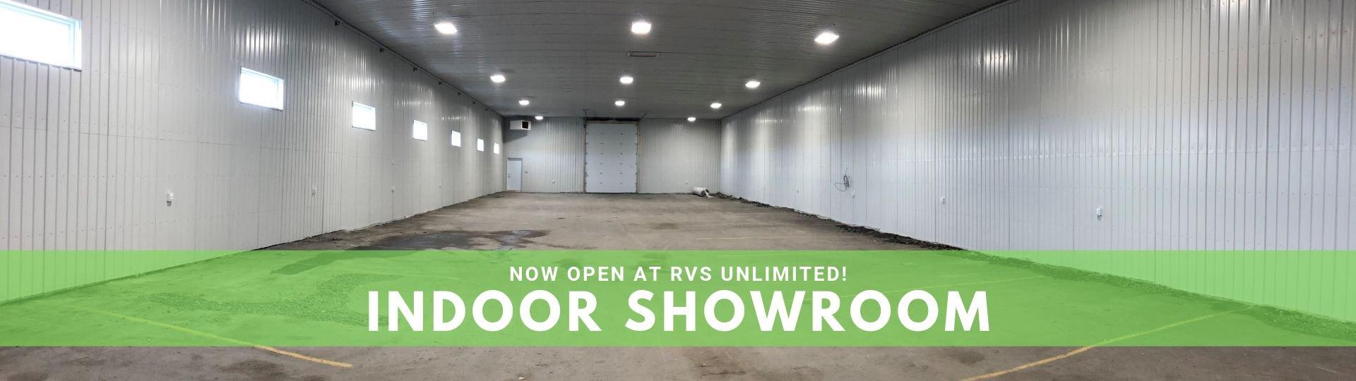 New Indoor Showroom - Slide Image
