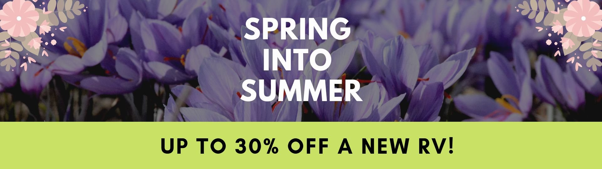 Spring into Summer Sale - Slide Image
