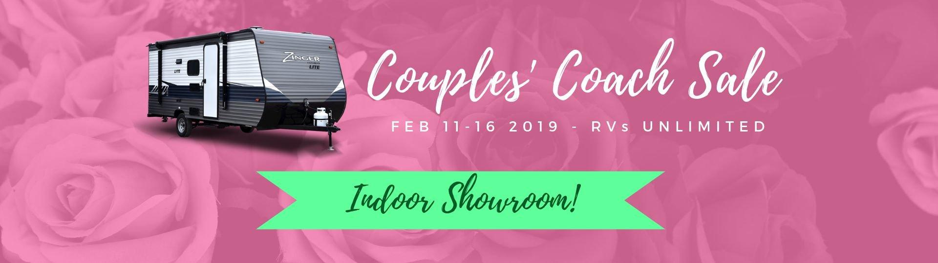 Couple's Coach Sale - Feb 11 to 16 - Slide Image