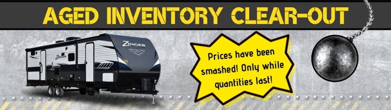 Slide Image - Aged Inventory Clearout - While Quantities Last!