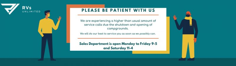 Slide Image - Be Patient with us