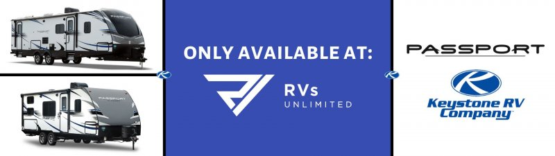 Slide Image - All New Passport - Only at RVs Unlimited