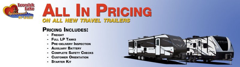 Slide Image - All-In Pricing for Travel Trailers
