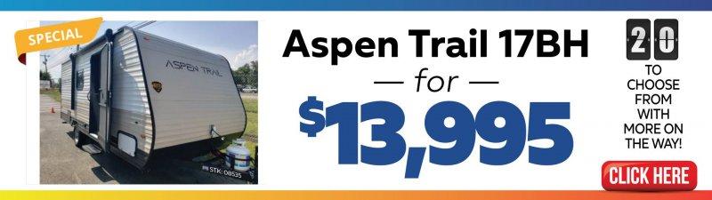 Slide Image - Aspen Trail Clearance