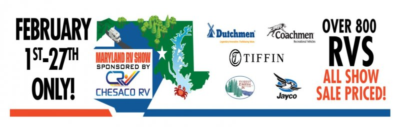 Slide Image - Maryland RV Show Sponsored By Chesaco RV